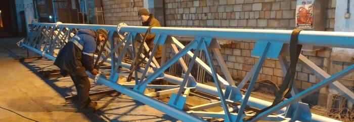 Покраска конструкций Киев