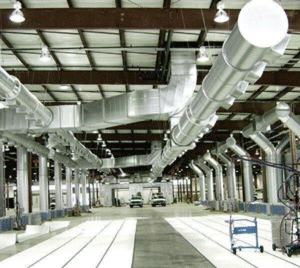 производственная промышленная вентиляция в Киеве